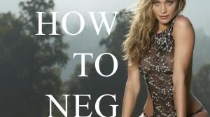 negging